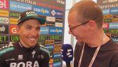 Cesare Benedetti po zwycięstwie na 12. etapie Giro