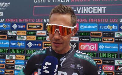 Paweł Poljański o szansach Rafała Majki na podium Giro