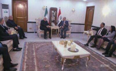 Zarif z wizytą w Bagdadzie