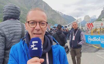 """Probosz po 14. etapie Giro. """"Możemy cieszyć się z jazdy Majki"""""""