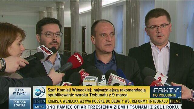Paweł Kukiz o opinii Komisji Weneckiej