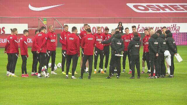 Ostatni trening Polaków przed meczem z Andorą