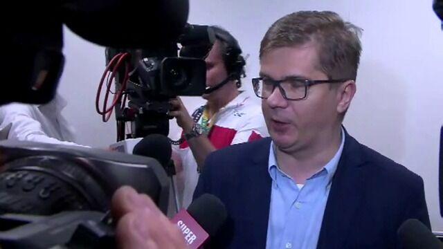 Sylwester Latkowski o obecności funkcjonariuszy w redakcji