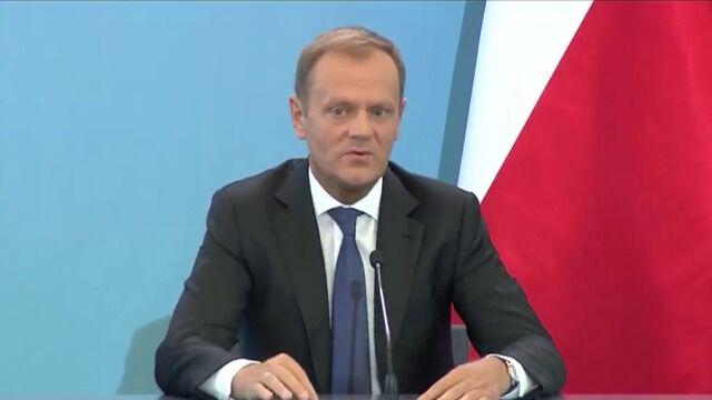 """Tusk: zdaniem prokuratora generalnego """"działania były uzasadnione"""""""