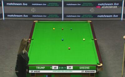 Judd Trump awansował do drugiej rundy Northern Ireland Open