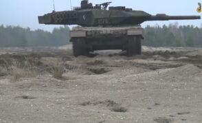 Czołgi Leopard 2A5 z bliska