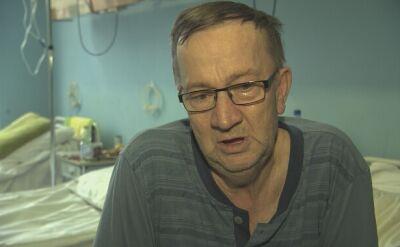 Alfred Piec po operacji tętniaka aorty brzusznej