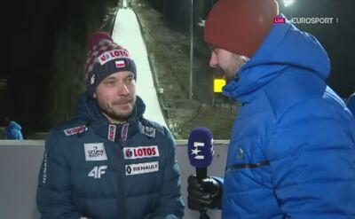 Michal Dolezal po niedzielnych zawodach w Titisee-Neustadt