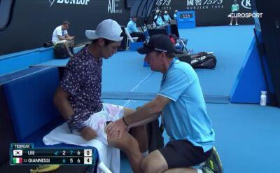 Zawodnik wściekły po porażce w kwalifikacjach Australian Open
