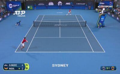 Novak Djokovic pokonał Rafaela Nadala w ATP Cup