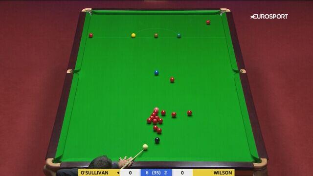 Szczęśliwe zagranie O'Sullivana w finale MŚ