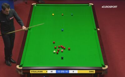 Ronnie O'Sullivan w ćwierćfinale mistrzostw świata