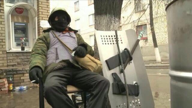 W Słowiańsku separatyści przejęli posterunek milicji