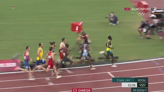 Tokio. Patryk Dobek z brązowym medalem na 800 m. Złoto Korira