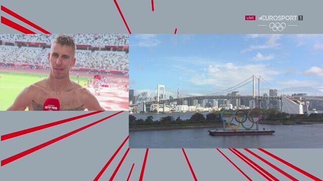 Tokio. Marcin Lewandowski w wywiadzie po niefortunnym biegu