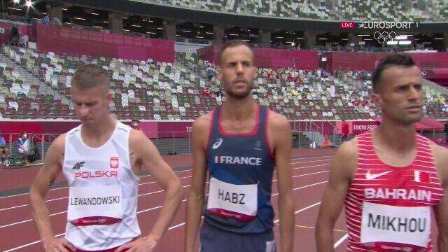 Tokio. Cały bieg Marcina Lewandowskiego na 1500 metrów w fazie eliminacyjnej