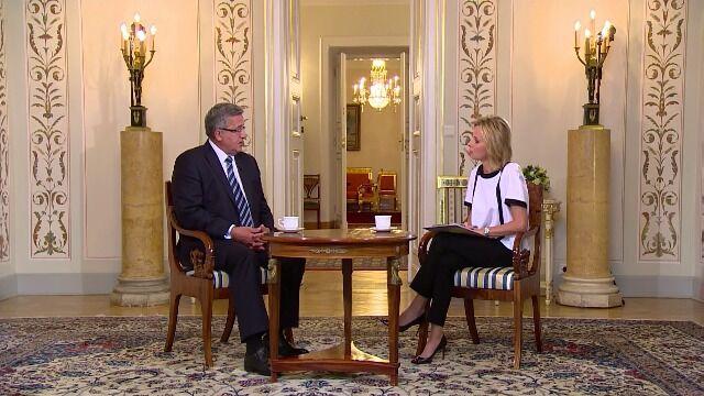 Prezydent o Siemoniaku: bardzo wysoko oceniam jego poziom współpracy