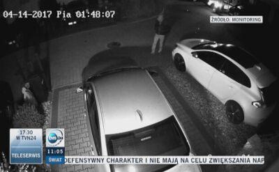 Seryjne kradzieże samochodów na osiedlu