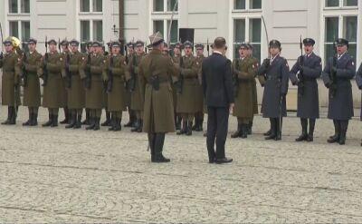 20 lat Polski w NATO. Uroczysta odprawa wart przed Pałacem Prezydenckim
