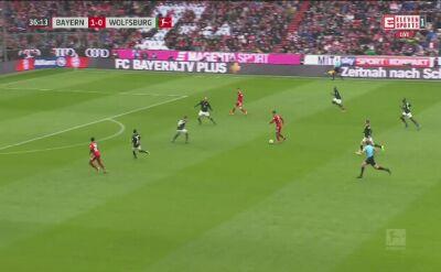 Dwa gole Roberta Lewandowskiego z Wolfsburgiem