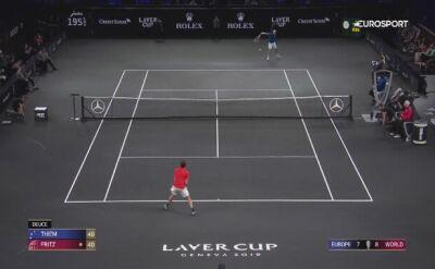Skrót meczu Fritz - Thiem w Pucharze Lavera