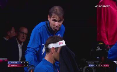 Cenne rady Nadala zaprowadziły Federera do zwycięstwa