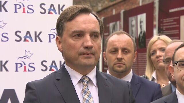 Ziobro: pan Kostecki mówił, że słyszał – w sensie plotki – że takie fakty miały miejsce