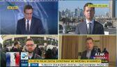 Wysłannicy TVN24 w Paryżu