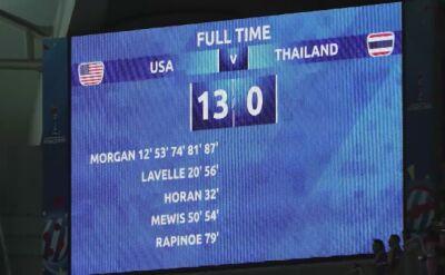 Amerykanki ograły Tajki 13:0
