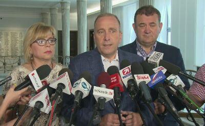 Schetyna: PO chce powołania komisji śledczej w sprawie Puszczy Białowieskiej