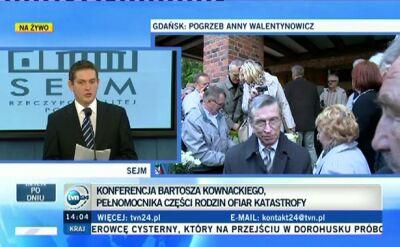 Kownacki: Według MSZ Kopacz brała udział w identyfikacji