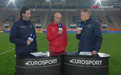 Van Dael po meczu Zagłębie Lubin - Wisła Kraków