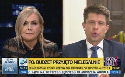 """""""Przechodzimy do innych form protestu"""". Petru zapowiada wniosek do TK ws. budżetu"""