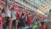 Polski hymn na Stade Velodrome