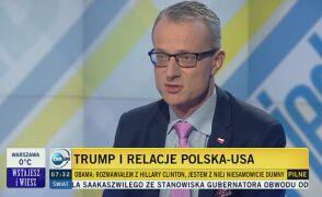Magierowski: Trump jest epwnego rodzaju enigmą