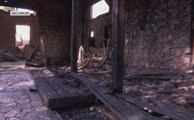Spalony dom byłej szefowej ukraińskiego banku centralnego