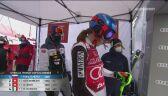 Drugi przejazd Petry Vlhovej ze slalomu w Are