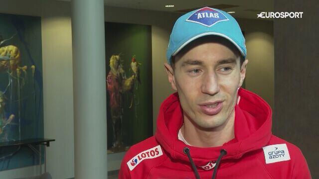 Kamil Stoch na zakończenie sezonu skoków narciarskich
