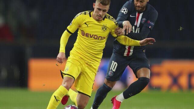 Paris Saint-Germain - Borussia Dortmund Liga Mistrzów
