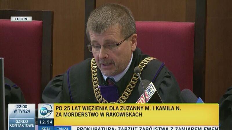 Sąd: kara 25 lat pozbawienia wolności dla morderców z Rakowisk