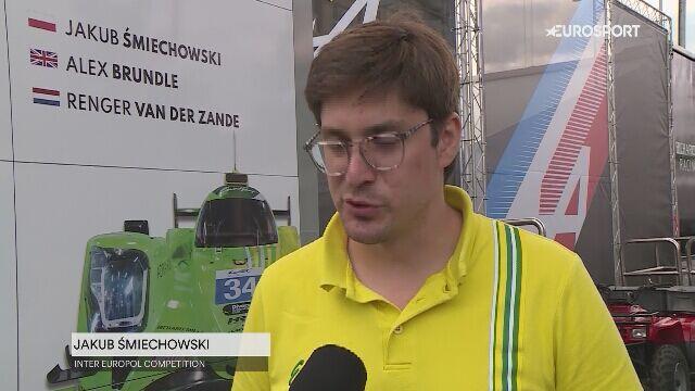 Jakub Śmiechowski przed wyścigiem 24H Le Mans