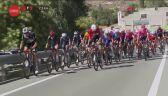 Wypadek lidera Reina Taaramae w końcówce 4. etapu Vuelta a Espana