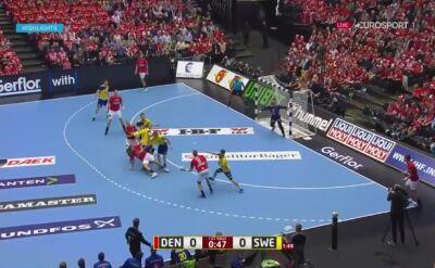 Skrót meczu Dania - Szwecja
