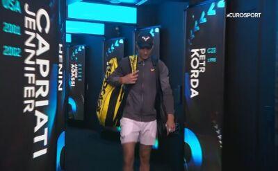 Nadal wzruszony po awansie do finału Australian Open
