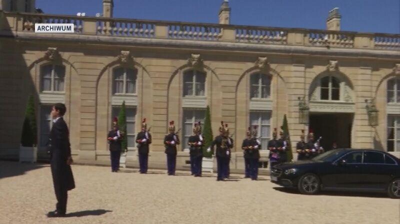 Spotkanie z francuskim prezydentem Emmanuelem Macronem