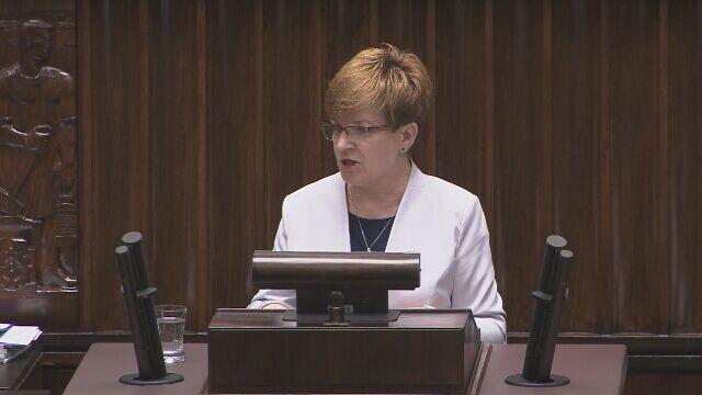 Opozycja kierowała zarzuty pod adresem Zalewskiej, minister odpowiadała