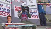Skok Kamila Stocha z pierwszej serii w Innsbrucku