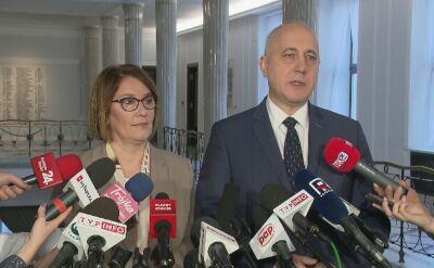 """""""Pośle Gawłowski, nie jest to trafny zarzut"""""""