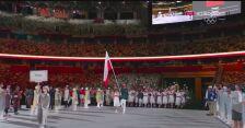 Reprezentacja Polski podczas otwarcia igrzysk olimpijskich w Tokio