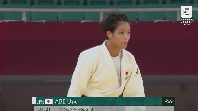 Rodzeństwo Abe ze złotymi medalami w judo w kategoriach -52 kg i -66 kg